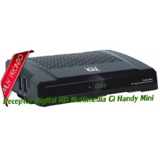 Receptor Digital HD Multimedia Gi Handy Mini CCcam / Newcamd / Mgcamd