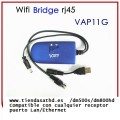 Adaptador Wifi a RJ-45 Bridge Vonets/VAP11G