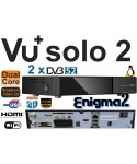 Receptor Vu+ Solo2 Twin DVB-S2 Full HD