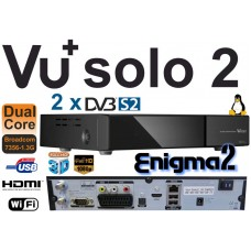 "Receptor Vu+ Solo2 Twin DVB-S2 Full HD ""ORIGINAL IVA INCLUIDO"""